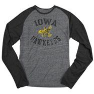 Iowa Hawkeyes adidas Originals Gym Class Tri-Blend Long Sleeve Tee