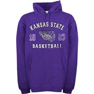 Kansas State Wildcats Legacy Basketball Hooded Sweatshirt