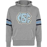 North Carolina Tar Heels Youth Heather Grey Bolt Pullover Hooded Sweatshirt
