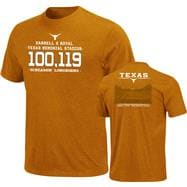 Texas Longhorns Dark Orange Earned on the Field T-Shirt
