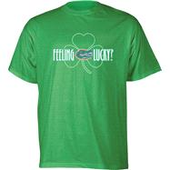 Florida Gators Kelly Green Feeling Lucky T-Shirt