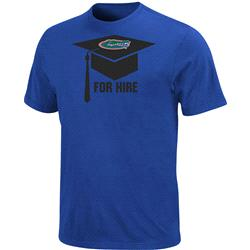 Florida Gators For Hire Graduation T-Shirt