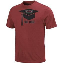South Carolina Fighting Gamecocks For Hire Graduation T-Shirt