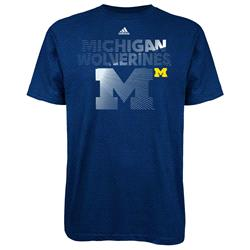 Michigan Wolverines adidas Radiant Team T-Shirt - Navy