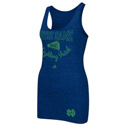 Notre Dame Fighting Irish adidas Women's Megafan Tri-Blend Tank Top