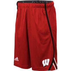 Wisconsin Badgers adidas 2013 Spring Game Climalite Players Shorts