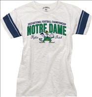 Notre Dame Fighting Irish 47 Brand Women's BCS National Championship Game Scrum T-Shirt