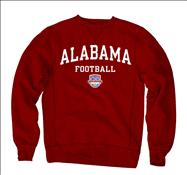 Alabama Crimson Tide 2013 BCS National Championship Game Tide Crewneck Sweatshirt - Cardinal