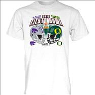 Kansas State Wildcats vs Oregon Ducks 2013 Fiesta Bowl Bound T-Shirt