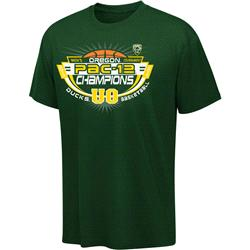 Oregon Ducks 2013 Pac-12 Basketball Conference Tournament Champions T-Shirt