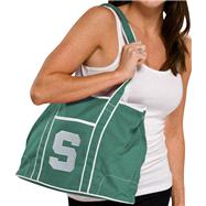 Michigan State Spartans Kelly Green Hampton Canvas Tote