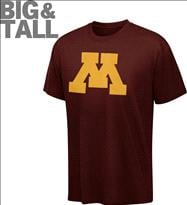 Minnesota Golden Gophers Big & Tall NCAA Logo T-Shirt