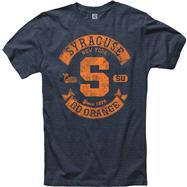 Syracuse Orange Heathered Midnight Rockers Ring Spun T-Shirt