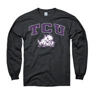 TCU Horned Frogs Black Perennial II Long Sleeve T-Shirt