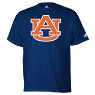 Auburn Tigers Navy adidas Strong Logo T-Shirt