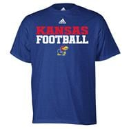 Kansas Jayhawks Royal adidas 2011 Football Practice T-Shirt