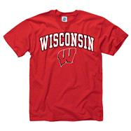 Wisconsin Badgers Youth Red Perennial II T-Shirt