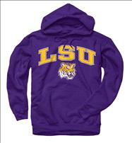 LSU Tigers Youth Purple Perennial II Hooded Sweatshirt