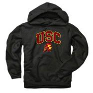 USC Trojans Youth Black Perennial II Hooded Sweatshirt