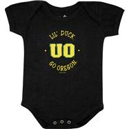 Oregon Ducks Newborn / Infant Black Lil' Mascot Creeper