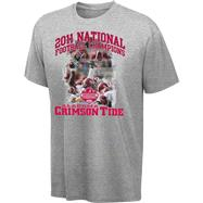 Alabama Crimson Tide 2011 BCS Football National Champions Celebrate FX T-Shirt