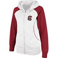South Carolina Gamecocks Women's Team Sleeve Full-Zip Hooded Sweatshirt