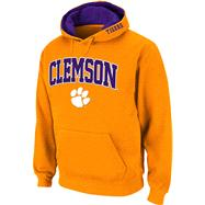 Clemson Tigers Orange Twill Tailgate Hooded Sweatshirt