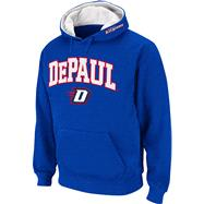 DePaul Blue Demons Royal Twill Tailgate Hooded Sweatshirt