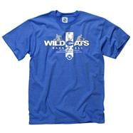 Kentucky Wildcats Royal Home Turf Basketball T-Shirt