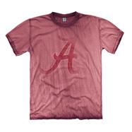 Alabama Crimson Tide Black Fade Out Mix Washed T-Shirt