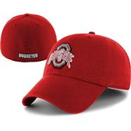 Ohio State Buckeyes Red '47 Brand Franchise Fitted Hat