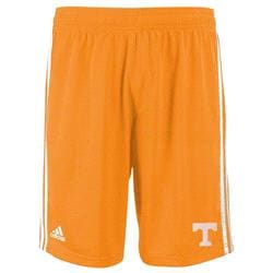 Tennessee Volunteers Light Orange adidas Youth Primary Logo Athletic Mesh Shorts