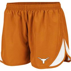 Texas Longhorns Burnt Orange Women's Flip II Running Shorts