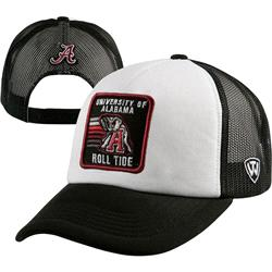 Alabama Crimson Tide Blackout Foam Trucker Meshback Adjustable Hat