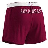 Arkansas Razorbacks Women's Cardinal Authentic Soffe Shorts