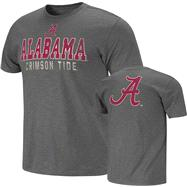 Alabama Crimson Tide Charcoal Harley Slub Knit T-Shirt