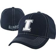 Illinois Fighting Illini Navy Endurance Flex Hat
