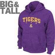 LSU Tigers Big & Tall Legacy Hooded Sweatshirt