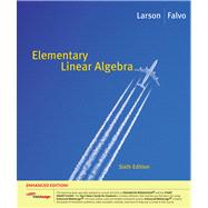 Elementary Linear Algebra, Enhanced Edition (with Enhanced WebAssign 1-Semester Printed Access Card)