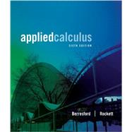 Student Solutions Manual for Berresford/Rockett's Applied Calculus, 6th,9781133104018