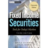 Fixed Income Securities: Tools for Today's Markets, 3rd Edition, University Edition,9780470904039