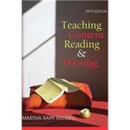 Teaching Content Reading and Writing, 5th Edition,9780470084045