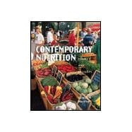 Contemporary Nutrition: Issues and Insights (Book with CD-ROM),9780072344059