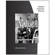 Student Activity Manual for Riga's Salve!