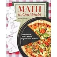 MathZone Access Card for Math in Our World