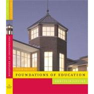 Foundations of Education,9780618904129
