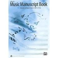 Alfred's Music Manuscript Book : 10-Stave, 9780739064153  