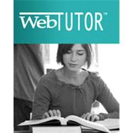 WebTutor on WebCT 1-Semester Instant Access Code for Cross/Miller's The Legal Environment of Business: Text and Cases -- Ethical, Regulatory, Global, and E-Commerce Issues