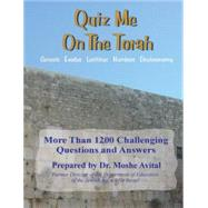 Quiz Me on the Torah, 9789657344170