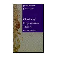 Classics of Organizational Theory,9780534504175